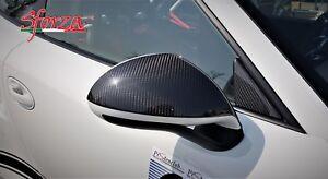 Porsche 911 991 - 981 Carbon fiber Mirrors upper Covers