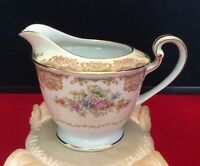 1930's Noritake China Creamer | Pitcher with Floral Pattern