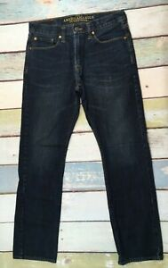 AMERICAN EAGLE AEO Men's Slim Straight Jeans measures 31 x 31.5  tag says 31x32