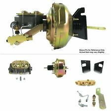 "1973-77 Chevy Chevelle FW Mount Power 7"" Single Brake Booster Kit LS Disc/Drum"
