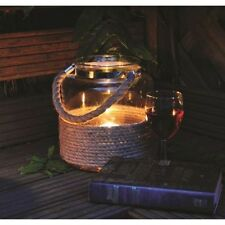 CANDLE HOLDER LANTERN GLASS VASE STORM HOME PATIO GARDEN CENTERPIECE
