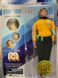 Mego Star Trek Chekov 8 inch Action Figure Limited Edition 10000 units Exclusive