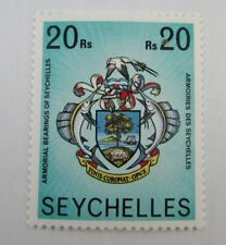 Seychelles SC #403 ARMORIAL BEARINGS OF SEYCHELLES  MNH stamp