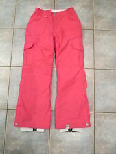 Girls Pink Roxy Snowboard Pants Size Large Youth
