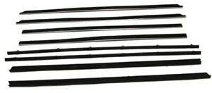 Window Sweeps for 1964-65 Chrysler Dodge Plymouth B-Body Coupe OEM USA Made