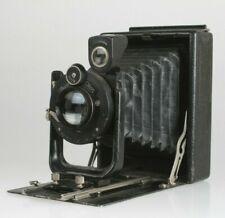 "Zeiss Ikon Volta 9x12cm Plattenkamera ""Photo-Grimm Solingen"" Klio mit 4,5/13,5cm"