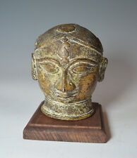 Antique Indian bronze alloy Gauri head