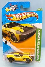2767 HOT WHEELS CARTE US / TREASURE HUNTS 2012 / FORD SHELBY GR 1 CONCEPT 1/64