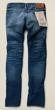 BNWT RRL DOUBLE RL Ralph Lauren East-West Slim Selvedge Jeans 31/34 Henderson