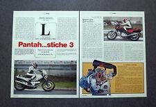 AI60- Clipping-Ritaglio -1982- LE NUOVE DUCATI 350 , 600 E 900