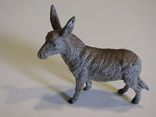Antique Pot Metal Toy Donkey Hand Painted Marked Germany