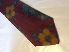 Mens Red Green Brown SILK Tie Necktie A. FOXX (9527)