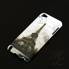 Apple iPod Touch 5 5G Hard Case Schutz Hülle Etui Motiv France Paris Eiffelturm