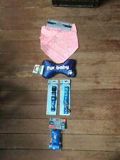 New listing Dog Items New Dog Leash, Bandana, Collar, Dog Toy, 30 Dog Waste bags & holder