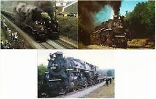 Nickel Plate NKP Railroad Lot of 3 Postcards