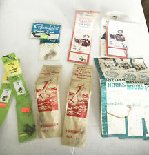 Lot of Snelled Fish hooks Fishing