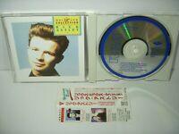"Rick Astley 12"" Collection Japan CD w/Obi R20P-1002 1989"