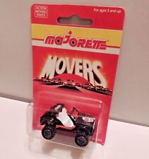 """1990 Majorette """"Crazy Car"""" Jeep 4x4 (#267) ~""""200 Series"""" ***NEW ON CARD***"""