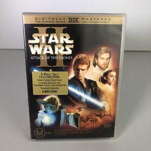 Star Wars- Episode II - Attack Of The Clones DVD- Ewan McGregor, Natalie Portman