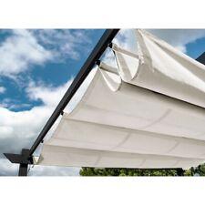 ALEKO Pergola Canopy Fabric Replacement - 9 x 9 Feet - White