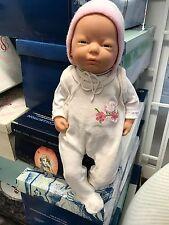 Zapf Puppe Vinyl Puppe 48 cm. Top Zustand