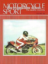 Motorcycle Sport Magazine June 1984 - Honda VF400F Brooklands Model 40 V4 VF