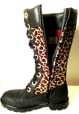 Timberlad Earthkeepers  Boots Leopard Print Size US.4 UK.3.5 EUR.36