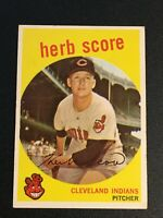 F62612  1959 Topps #88 Herb Score INDIANS