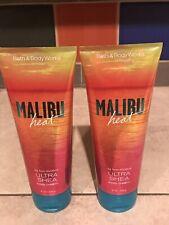 Bath & Body Works Malibu Heat Body Cream Ultra Shea New Set of 2