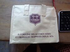 Trappist Chimay koelzakje reclame beer sign cooling bag new pères trappistes