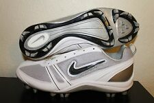 NIKE Soccer Cleats Womens SIZE 12 NEW Shoes World Cup Football White and Gray