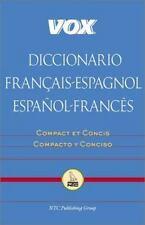 VOX Dictionary: Vox Diccionario Français-Espagnol/Español-Francés by Vox...