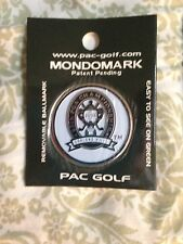 2008 PGA CHAMPIONSHIP GOLF Mondomark BALL MARKER P. Harrington