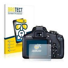 BROTECT Panzerglasfolie für Canon EOS 2000D Schutzglas 9H Display Schutzfolie