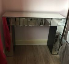 Mirrored Dressing Table with small drawer, Modern, Good condition(used),