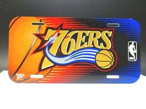 Philadelphia 76 Ers License Plate Plastic Sign 11 13/16in, NBA Basketball