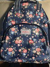 Cath Kidston Backpack Daypack Bag Purse London. Rose Vintage. Waterproof.
