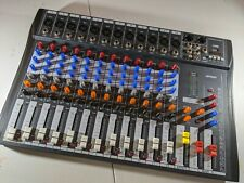 ammoon 12 Channel Mixer Console USB XLR (Case Included)