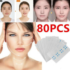 80/160PCS ! Instant Face Neck and Eye Lift Facelift Tapes Bands Sticker Slim