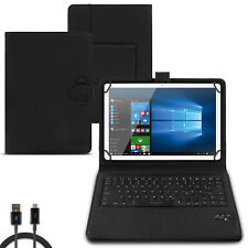 Tablet Hülle Lenovo Tab M10 Tasche Bluetooth Keyboard Tastatur Case QWERTZ Cover