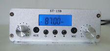 1.5w/15w 87 108mhz LCD Digital PLL Stereo HighPower FM Transmitter