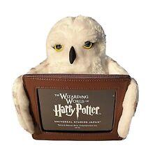 Rare Wizarding World of Harry Potter Japan Hedwig Plush Photo Frame