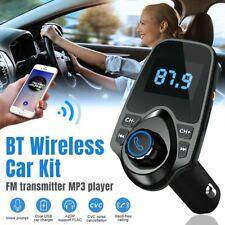 Bluetooth Auto FM Transmitter MP3 Player Adapter USB Stick KFZ Freisprechanlage