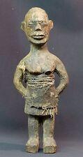A Art Africain 1880 rare statuette très ancienne Lobi Bateba 30cm Burkina Faso