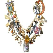 Kirks Folly Bubble Bubble Toil & Trouble Halloween Potion Necklace  & Scarf GF