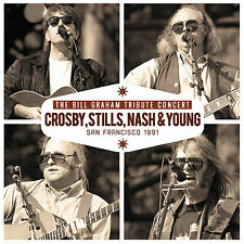 CROSBY STILLS NASH & YOUNG New 2018 UNRELEASED LIVE 1991 REUNION CONCERT CD