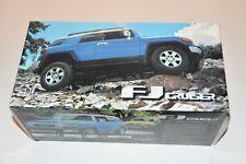 1:18 Toyota FJ Cruiser Blue 2007 AUTOartmodels Diecast AUTO ART w/ COA and box