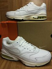 VTG🔥 Nike Air Max Burst 1 White Leather Black OG Early 2000s Made In Korea 11.5