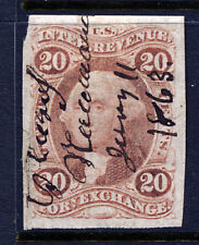 R41a, 20 cent Foreign Exchange, Imperforate, 1st issue Revenue
