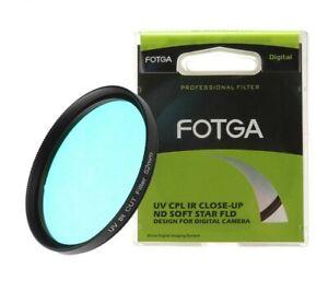 UV-IP Neutral Optical Filter Glass Pass 49mm-82mm X-Ray Optical Filter Lens DSLR